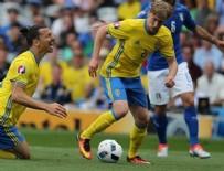 TOULOUSE - İtalya İsveç'i 88. dakikada yıktı