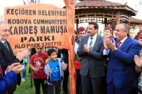 ÇANAKKALE DESTANI - Kardeş Mamuşa Parkı Açıldı