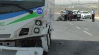 MEHMET ŞEKER - Karnelerini Alan Öğrenciler Dönüş Yolunda Kaza Yaptı Açıklaması 1 Ölü, 3 Yaralı