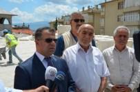 OKUMA SALONU - Merkez Cami İnşaatında Sona Yaklaşılıyor