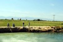 SARıKEMER - Olta Balık Yerine Yüksek Gerilme Takıldı