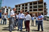 MUSTAFA SAVAŞ - AK Parti Aydın Milletvekili Öz, Söke'de Yurt İnşaatını İnceledi