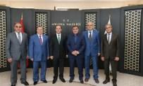 CENGIZ ERDEM - Başkan Özdemir'den Vali Işık'a Hayırlı Olsun Ziyareti