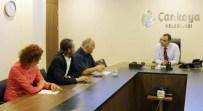 ALI ULUSOY - Engelli Meclisi Üyeleri Taşdelen'i Ziyaret Etti