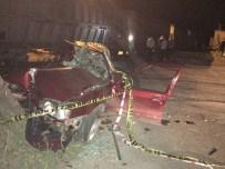 SEFAI - Hastane Dönüşü Trenle Çarpıştılar Açıklaması 2 Ölü, 2 Yaralı