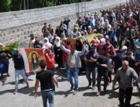 DIRAYET - HDP'li vekil yine terörist cenazesinde!