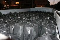 Mardin'de 5 Bin 650 Şişe Kaçak İçki Ele Geçirildi