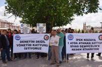 YıLMAZ ÇETIN - Sidemir İşçileri 'Kayyum' Eyleminde Destek Bulamadı