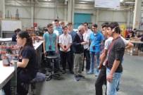 Soma Endüstri Meslek Lisesi Öğrencileri İzmir Sanayisini Gezdi