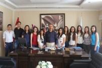 Başkan Culha'dan Stajyer Öğrencilere ''Üniversite Okuyun'' Tavsiyesi