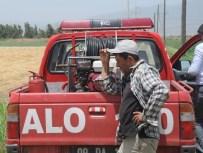 UMURLU - Başkan Posacı'nın Çiftliğinde Yangın