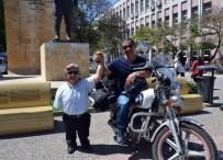 ENGELLİ SPORCU - Engelli Motosikletçi 10 Bin Kilometre Yol Katedecek