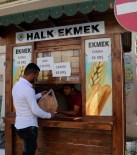 HALK EKMEK - Erdemli'de Halk Ekmek Fiyatı 65 Kuruş