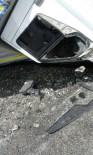 ALI POLAT - Gaziantep'te Kamyonet Takla Attı Açıklaması 2 Yaralı