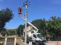 PERİYODİK BAKIM - Akdeniz EDAŞ Bakım Onarım Çalışmalarına Devam Ediyor