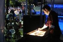 VEYSEL ÇELİKDEMİR - Başiskele İftarı Kum Sanatı İle Renklendi
