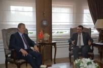 YÜCEL YAVUZ - Başkan Genç'ten Vali Yavuz'a 'Hayırlı Olsun' Ziyareti
