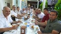 Burhaniye'de Milli Eğitim Müdürü Bahadır Okul Müdürlerine İftar Verdi