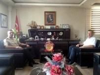 TAMER ORHAN - Garnizon Komutanı'ndan Kaymakam Orhan'a Veda Ziyareti