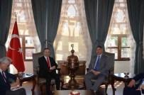 KİLİS VALİSİ - Irak Büyükelçisi Dr. Hisham Al-Alawi Kilis Valiliğini Ziyaret Etti