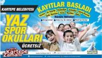 Kartepe'de Yaz Spor Okulu Kayıtları Başladı