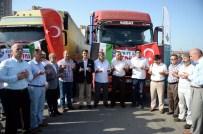 YARDIM KONVOYU - Suriyeli Mazlumlara 11 Tır Dolusu Yardım Yola Çıktı