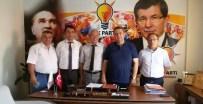MUSTAFA ZENGİN - Tüm Karadeniz İlleri Derneğinden AK Parti'ye Ziyaret