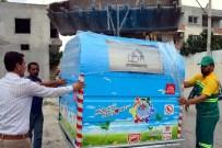 YÜKSEL MUTLU - Akdeniz Belediyesi'nden Yeni Proje Açıklaması Hijyenik Çöp Konteyneri