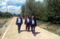 ALANYURT - Akşehir'de Kilitli Taş Çalışmaları Sürüyor