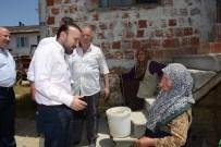 GÖKÇEÖREN - Başkan Doğan İlçedeki Köyleri Ziyaret Etti