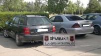 GÜMRÜK KANUNU - Diyarbakır'da Gümrük Kaçağı Lüks Araç Operasyonu