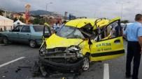 Trabzon'da İftar Vakti Trafik Kazası Açıklaması 3 Ölü, 3 Yaralı