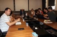 MÜBADELE - Başkan Eşkinat Basın Mensuplarıyla Bir Araya Geldi