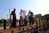 KARGıPıNARı - Başkan Tollu, Belediye Çalışmalarını Yerinde İnceledi