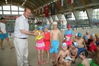 EROL AYDIN - Belediyenin Yüzme Kursunda Start Verildi