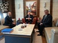 YAŞAR ÖZTÜRK - Çaturoğlu Bakan Özlü'yü Makamında Ziyaret Etti
