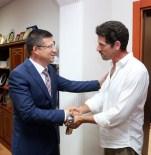 CEMAL HÜNAL - Dizi Oyuncusundan Başkan Subaşıoğlu'na Ziyaret