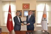 BAYRAM ÖZTÜRK - İran İslam Cumhuriyeti Trabzon Başkonsolosu Kondari'den AK Parti İl Başkanı Revi'ye Ziyaret
