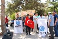 ALI GÜNGÖR - Aksaray'dan İsrail Milletvekiline Protesto