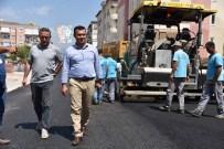OTOPARK SORUNU - Başkan Yücel Alaiye Caddesi'ndeki Çalışmaları İnceledi