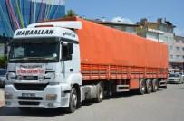 BEBEK MAMASI - Bayırbucak Türklerine Yardım TIR'ı Yola Çıktı