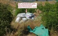 Hazro'da 373 Kilogram Esrar Ele Geçirildi