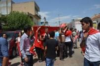 Ömerli'de Teröre Tepki Yürüyüşü Düzenlendi
