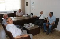 TAYTAN - Türkiye Sulama Birliği'nden Güzgülü'ne Ziyaret