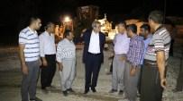 KONUKLU - Belediye Başkanı Fevzi Demirkol Kavakbaşı'ndaki Çalışmaları Denetledi