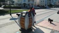 SOKAK KEDİSİ - Boş Şişeleri Toplayıp Satarak, Sokak Hayvanlarını Besliyor