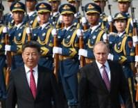 ŞANGAY İŞBİRLİĞİ ÖRGÜTÜ - Putin, Çin Devlet Başkanı Jinping'le Görüştü