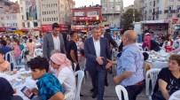 Zeytinburnu Belediye Başkanı Aydın İftarını İlçe Meydanında Vatandaşlarla Yaptı