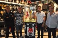 ŞAMPİYONLUK KUPASI - Beşiktaş'ın şampiyonluk kupası Kayseri'de