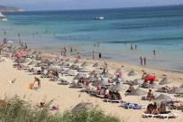 Bozcaada Plajları Doldu Taştı